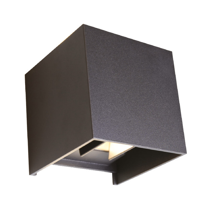 WALL MOUNT LED X37 7W 4000K BLACK