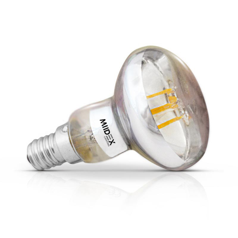 LED lamp E14 R50 Filament 5W 2700K