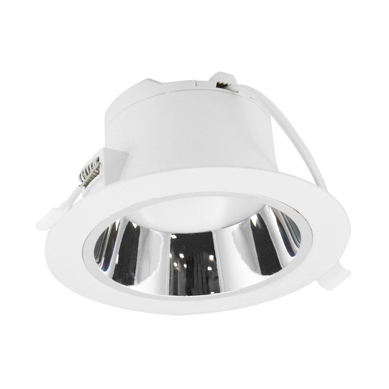 Downlight LED Wit/Zilver rond lage luminantie Ø230mm 25W 3000K