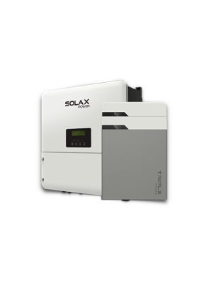 SOLAX STORAGE KIT-5,8KWH BATTERY-5KW INVERTER-MONO