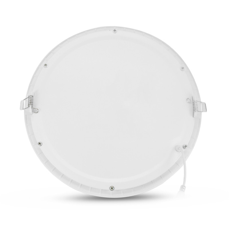 7766 - Roundpanel led dia 300 18W white 6000k