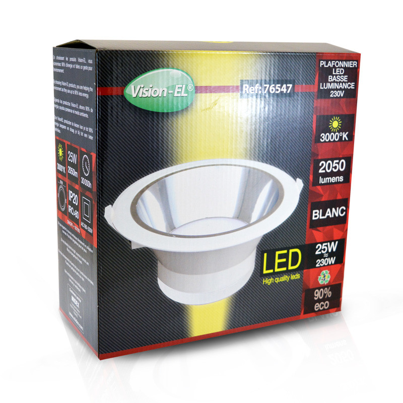 DOWNLIGHT-SPOT-25W-3000K-WHITE-BUILD IN DRIVER
